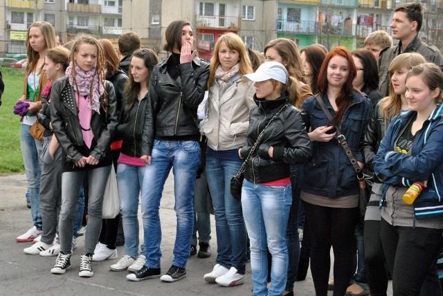 Gośćmi licealistów byli w sobotę gimnazjaliści