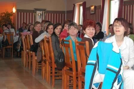 Uczestnicy szkoleń podczas jego podsumowania. Fot. Maria Sowisło