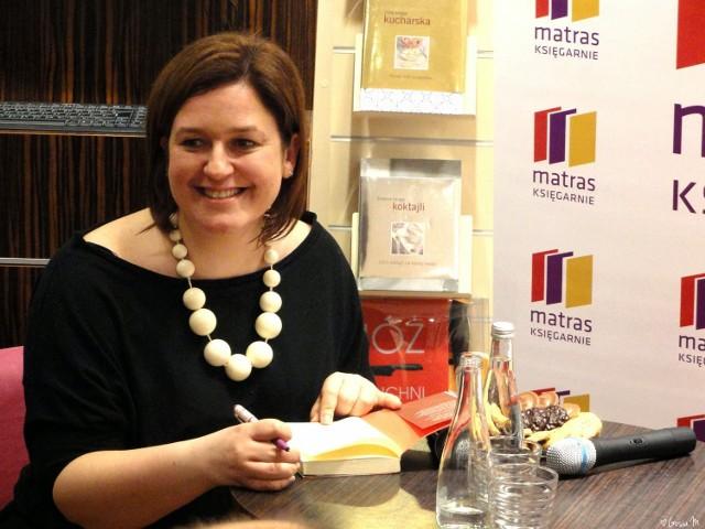 Magdalena Witkiewicz spotka się z czytelnikami w księgarni Matras w Galerii Malta