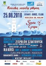 Zaproszenie na wielkie szant śpiewanie do Rzeczki w gminie Walim