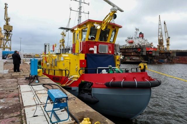 Ostatni z lodołamaczy wyrusza do Gdańska. Stocznia Gryfia zrealizowała projekt budowy czterech jednostek