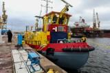 Ostatni z lodołamaczy wyrusza do Gdańska. Stocznia Gryfia zrealizowała projekt budowy czterech jednostek. ZDJĘCIA