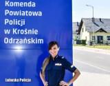 72-latek zasłabł i upadł na jezdnię w Krośnie Odrzańskim. Pomogli mu mieszkańcy oraz policjantka, Magdalena Józak