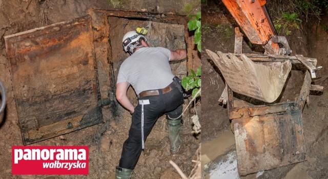 Próba dotarcia do sztolni w Jugowicach Górnych zakończyła się fiaskiem i wyrwaniem metalowych drzwi, które były zamontowane na jej wlocie od ponad 70 lat