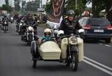 Parada motocyklowa w ramach XIV edycji Motopikniku w Wielichowie