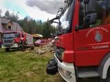 W Trzebiatkowej paliła się trawa. Dzięki mieszkańcom i szybkiej akcji pożar się nie rozprzestrzenił