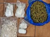 Koło: Policjanci z wydziału kryminalnego przechwycili blisko 2,5 kg narkotyków