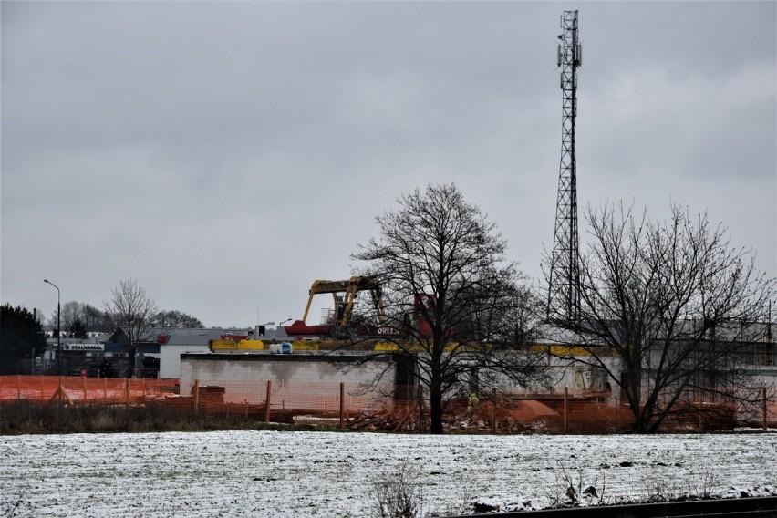 Zbąszyń: Fotorelacja z budowy nowej remizy OSP - 13 stycznia 2021