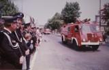 Straż pożarna w Radomsku wczoraj i dziś. Tak kiedyś wyglądali strażacy, ich wozy i sprzęt [ARCHIWALNE ZDJĘCIA]