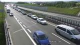 Trudny poniedziałek na krakowskich drogach. Rano w mieście i na autostradzie A4 tworzyły się korki [ZDJĘCIA]