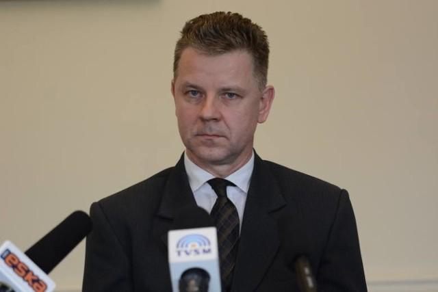 Mariusz Sędzicki był komendantem Straży Miejskiej w Grudziądzu od kwietnia 2019 roku