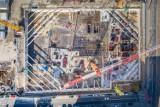 Nowy Rynek w Poznaniu: Trwa budowa kolejnego biurowca [ZDJĘCIA, WIDEO]