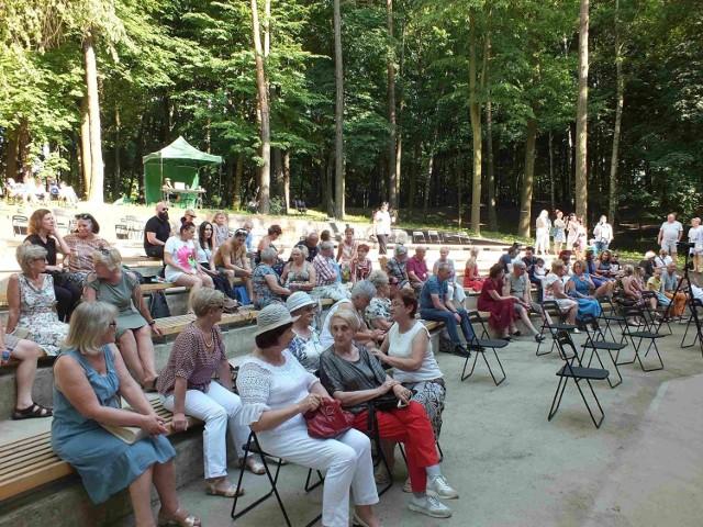 Na koncercie zebrało się sporo widzów
