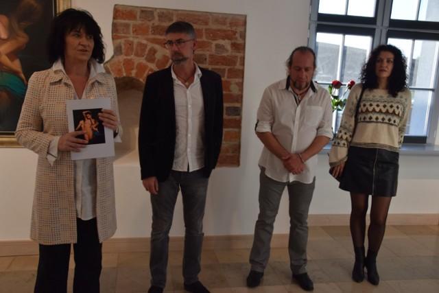 Na otwarcie wystawy do Szczecinka przyjechali artyści
