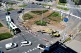 Będą zmiany w tymczasowej organizacji ruchu na placu Rodła? Policja i radni mają uwagi