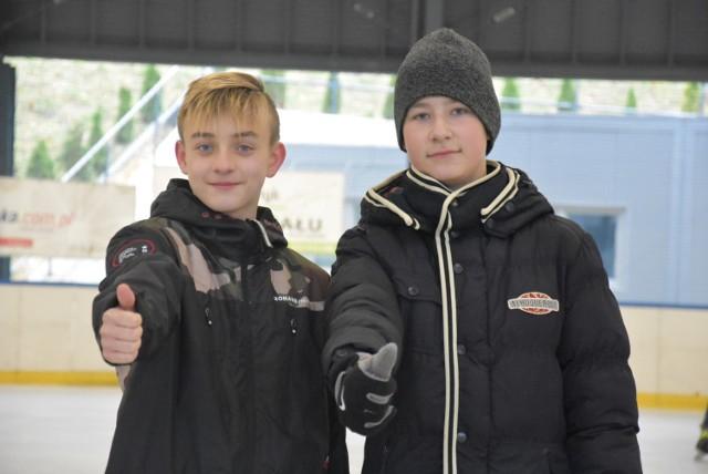 Lodowisko nareszcie otwarte! Mieszkańcy Rudy Śląskiej uzbrojeni w łyżwy podbili dzisiaj Burloch Arenę