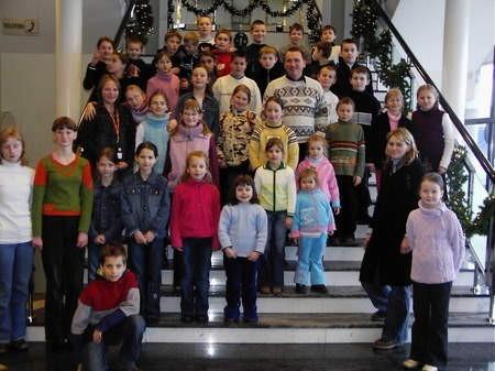 Dzieci z PMDK w Brusach w operze Nova w Bydgoszczy. Fot. archiwum
