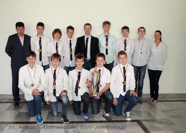 W 2014 roku zdobyli mistrzostwo Polski młodzików
