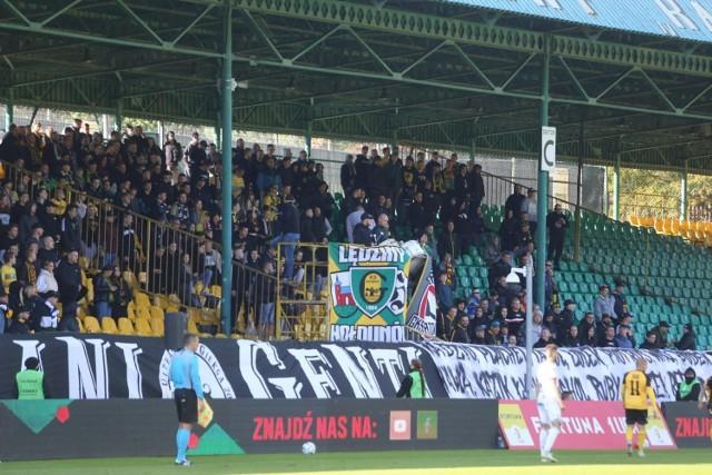 GKS Katowice - GKS Tychy. Mecz zakończył się wynikiem 2:2. Kibice dali z siebie wszystko.   Zobacz kolejne zdjęcia. Przesuwaj zdjęcia w prawo - naciśnij strzałkę lub przycisk NASTĘPNE
