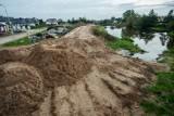 Darłowo: Nowe wały mają skutecznie chronić miasto przed powodzią [ZDJĘCIA]