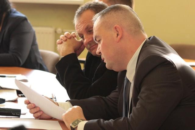 Radni Platformy Obywatelskiej Sławomir Pytel i Adam Horbacz