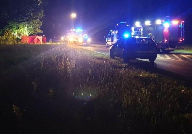 Zdjęcie z miejsca wypadku dostaliśmy od Czytelnika.