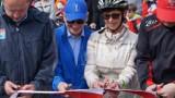 Otwarcie ścieżki rowerowej z Torunia do Osieka [ZDJĘCIA, WIDEO]