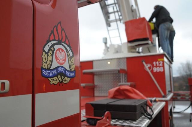 Wóz straży pożarnej
