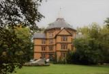 Jesień w parku otaczającym pałacyk książąt Radziwiłłów w Antoninie ZDJĘCIA