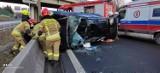 Wypadek na A4 w Krakowie. Ogromne korki na obwodnicy miasta [UTRUDNIENIA]