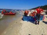 Tragedia na plaży w Stegnie. 22-latek utonął w morzu