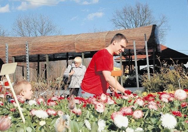 Piotr Kuźniak podkreśla, że kwiaty to teraz popularny towar