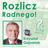 Rozlicz radnego w Bytomiu - tym razem na Wasze pytania czeka Krzysztof Gajowiak