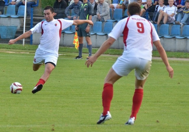 Strzelcem drugiego gola był Radosław Nolka, który w tym sezonie zdobył już pięć bramek. Obok K. Piosika jest najskuteczniejszym zawodnikiem Gromu