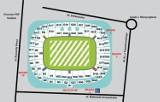 Mapa Stadionu Narodowego, PGE Narodowy. Jak dojechać na Stadion Narodowy? [MAPA, PLAN, DOJAZD]
