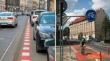 Kraków. Ograniczają ruch na Długiej. Przesunięta likwidacja ścieżki rowerowej na Grzegórzeckiej