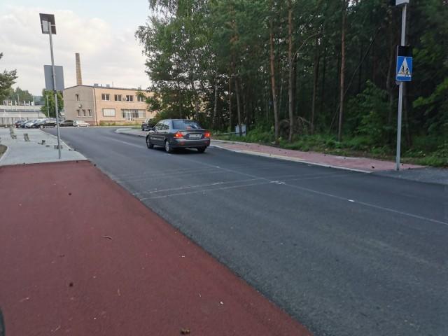 Nowa droga pieszo-rowerowa na ul. Powstańców Styczniowych w Chrzanowie