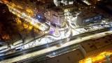Bajkowy Sosnowiec. Ośnieżony i oświetlony wieczorem wygląda pięknie. Zobaczcie miasto z lotu ptaka i nie tylko