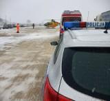 Mieszkaniec gminy Chojnice zgnieciony przez dwie ciężarówki w żwirowni w gminie Lipnica