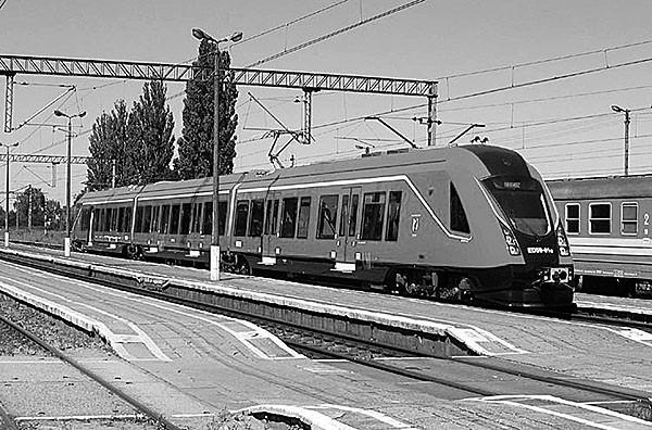 Na odremontowanej trasie Łódź – Łowicz podróżnych wozić mają nowoczesne szynobusy.
