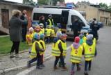 Dzieci z Przedszkola odwiedziły policjantów z Elbląga [ZDJĘCIA]
