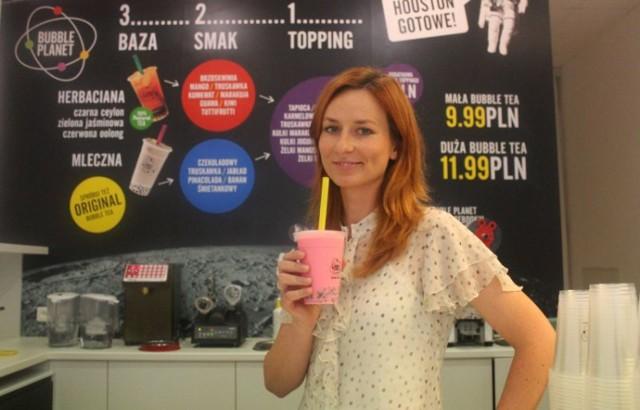 Właśnie otwarto w Poznaniu pierwszy tzw. bubble tea bar, w ...