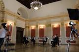 Khaleesi Brass nagrywał w odnowionej Sali Recepcyjnej kaliskiego ratusza ZDJĘCIA
