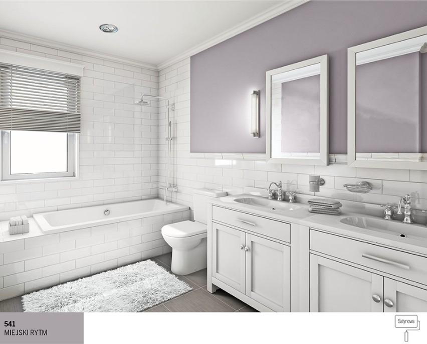 Nowoczesna łazienka W Odcieniach Szarości Najlepsze