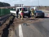 Brzesko. Kolejne zderzenie na autostradzie A4. Duże utrudnienia w ruchu