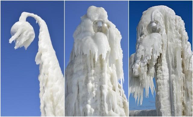 Zima w Polsce nie odpuszcza. Wystarczy silny morski wiatr i siarczysty mróz, by natura stworzyła niesamowite lodowe rzeźby. Tak było na molo w Sopocie pod koniec marca 2013 roku. Czy i w tym roku czekają nas takie niesamowite widoki? Zobaczcie galerię archiwalnych zdjęć.