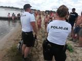 Akcja oleśnickiej policji nad zalewem w Stradomi Wierzchniej [ZDJĘCIA]