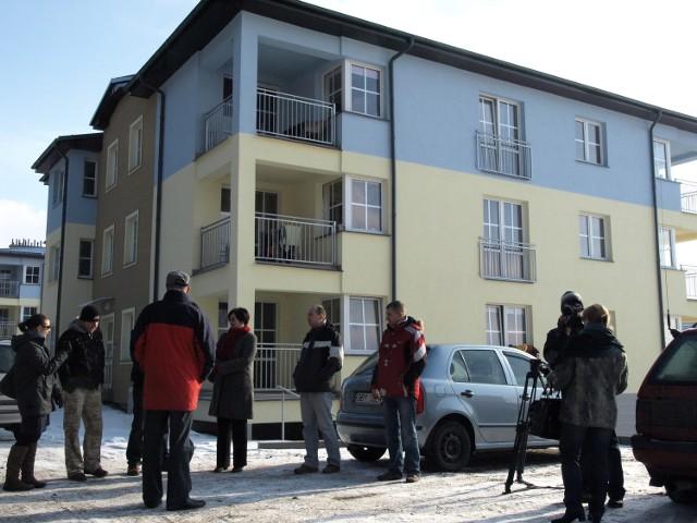 Zdjęcie wykonane gdy rozgorzał spór, w lutym 2010 roku