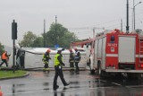 Kraków. Wypadek na Alejach. Zderzenie autobusu i tramwaju w centrum [NOWE ZDJĘCIA, WIDEO]