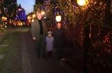 Niezwykle oświetlony dom i ogród można oglądać w okresie świątecznym w Przyszowicach